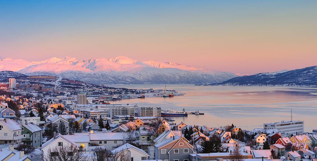 Herzlich willkommen in Tromsø, 200 km vom Nordpol entfernt