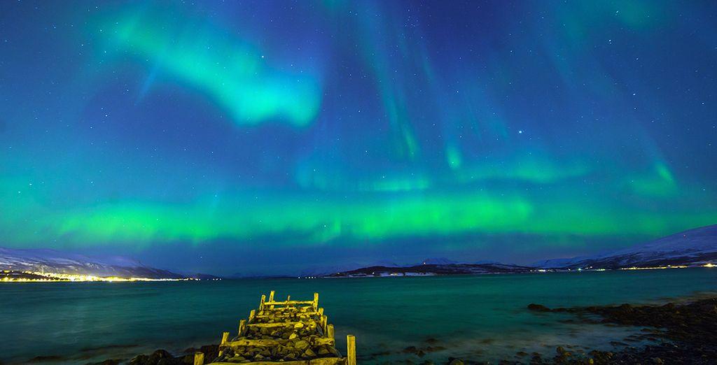 Wir wünschen Ihnen einen wunderschönen Aufenthalt in Tromsø!