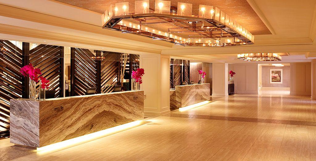 Entdecken Sie das elegante Design des Hotels!
