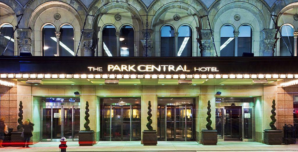 Willkommen im Park Central Hotel New York City 4*
