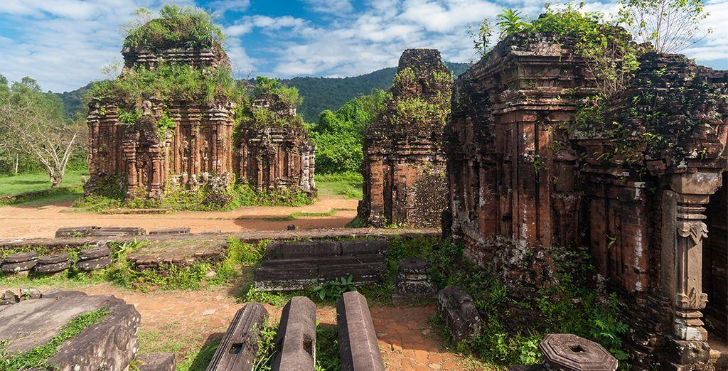 Die teilweise von der UNESCO zum Weltkulturerbe ernannt wurden