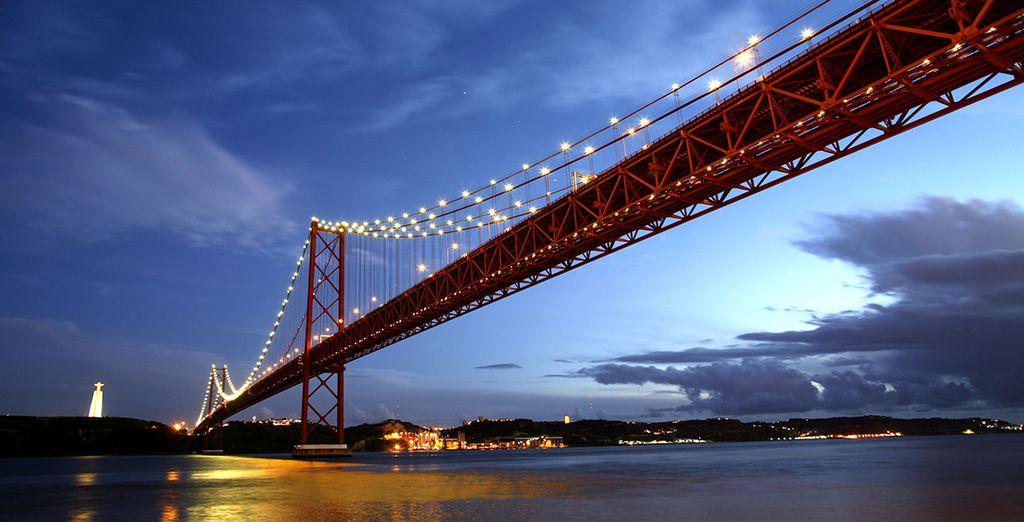 Wir wünschen Ihnen einen wunderschönen Aufenthalt in Lissabon!