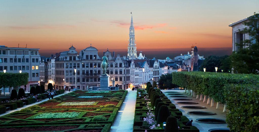 Wir wünschen Ihnen einen angenehmen Aufenthalt in der europäischen Hauptstadt!