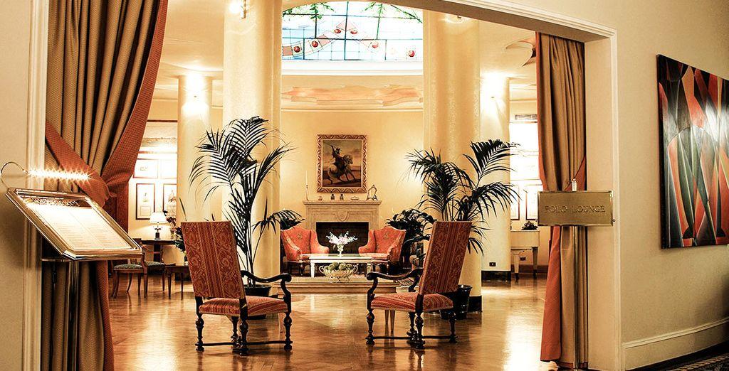 Ein Hotel mit Charme und Stil erwartet Sie...