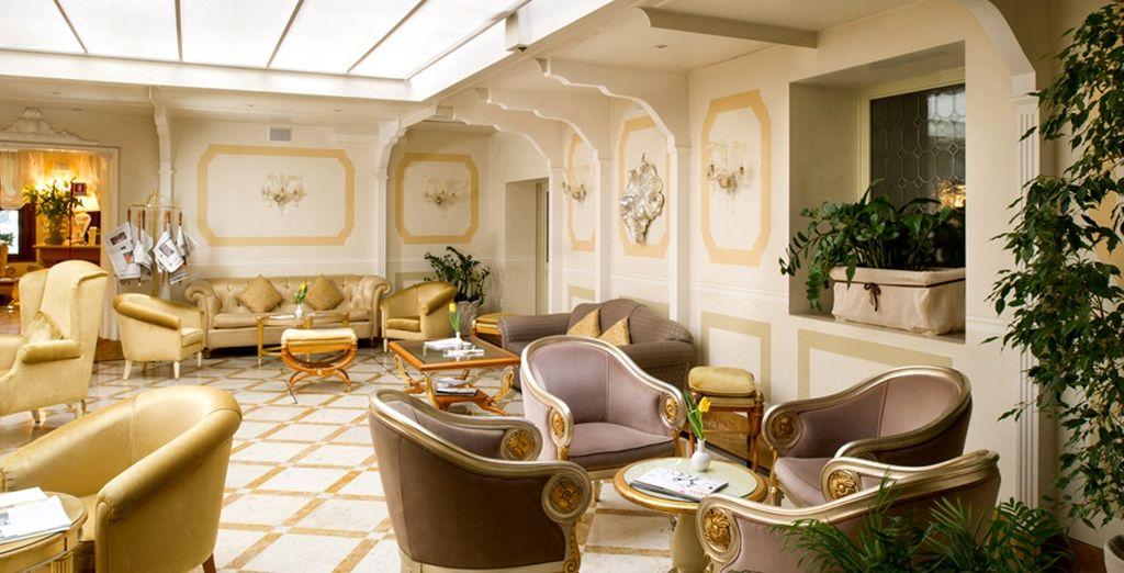 Hier erwartet Sie ein luxuriöses und elegantes Ambiente...