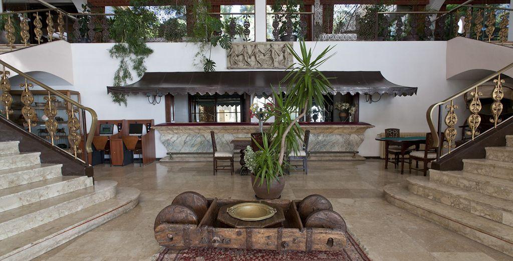 Das Hotel bietet traditionellen Charme