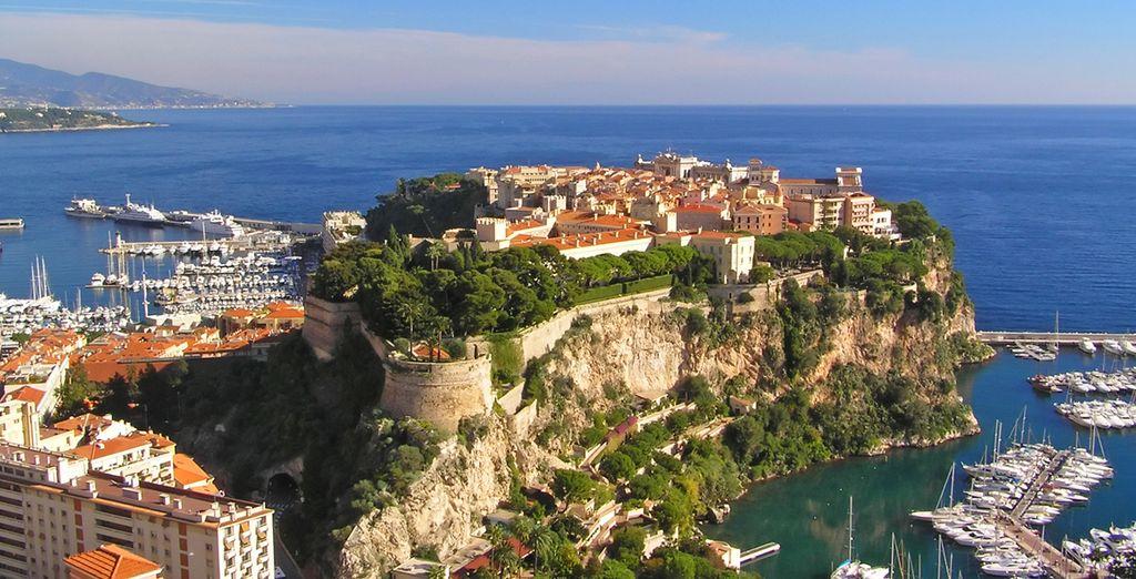 Monaco ist ebenfalls gut erreichbar