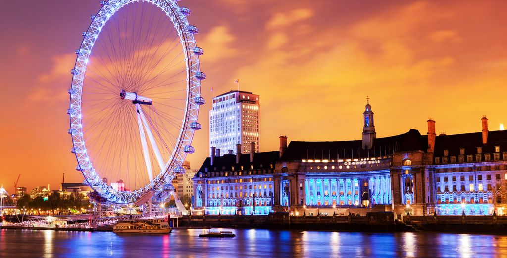 Das London Eye...