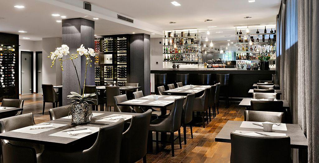 Speisen Sie im Restaurant La Perle Noire ...