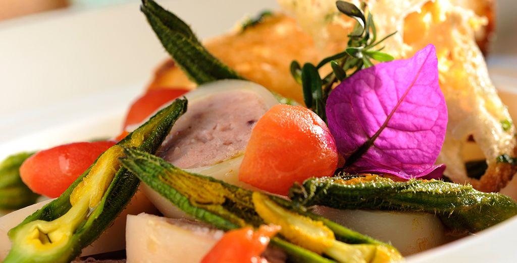... können Sie traditionelle neapolitanische Küche geniessen
