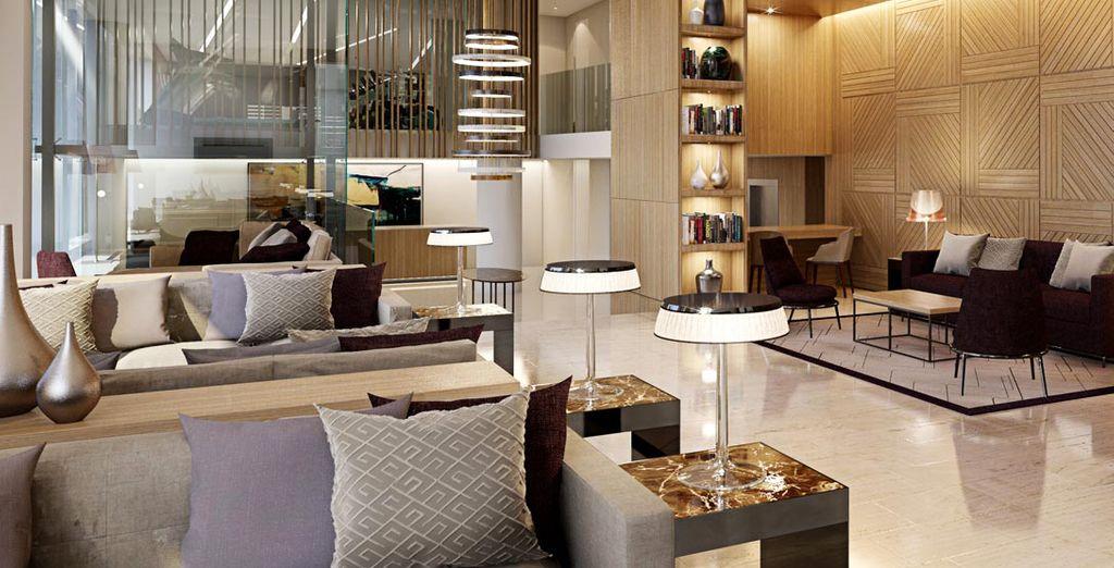 Willkommen in diesem modernen Design-Hotel