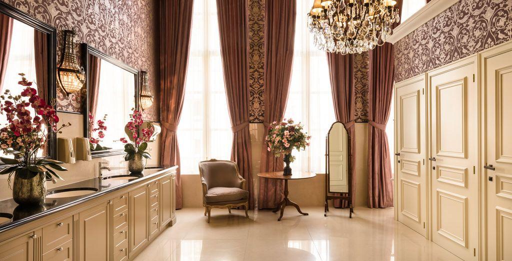 Bewundern Sie das elegante Dekor