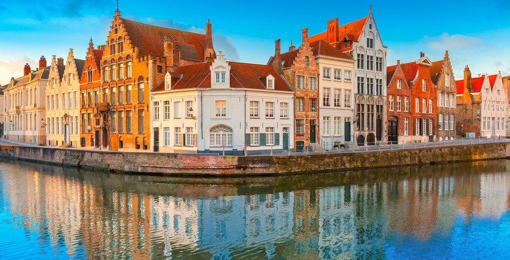 Die Stadt ist berühmt für ihre pittoresken Häuser