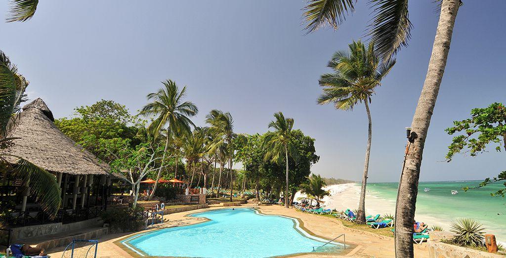 Hier begrüßt Sie das Baobab Beach Resort & Spa 4*!