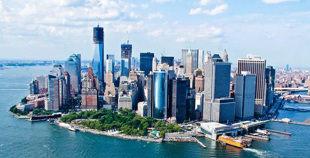Besuchen Sie Manhattan