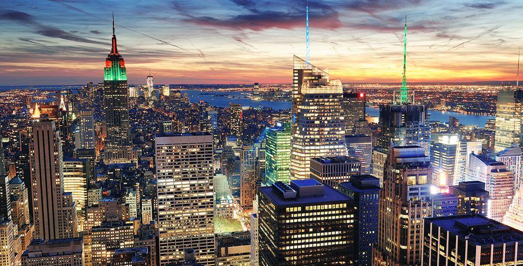 Bei Nacht verstrahlt New York einen besonderen Charme