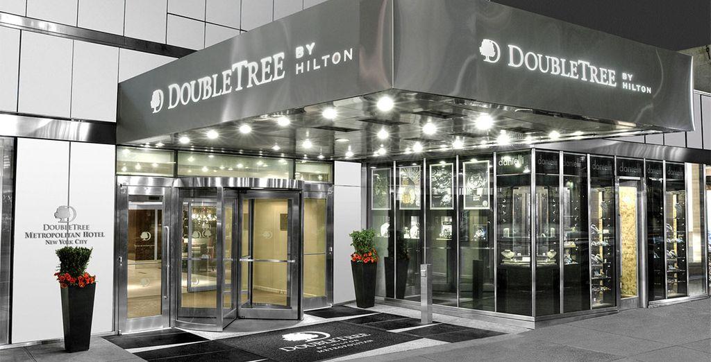 Das Doubletree Metropolitan 4* öffnet seine Pforten für Sie