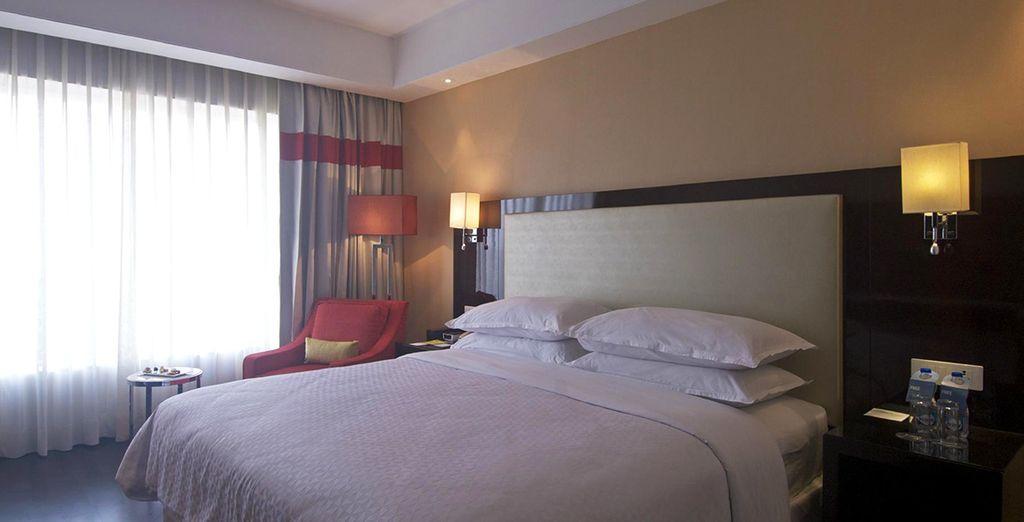 Während Ihrer gesamten Reise werden Sie in komfortablen Hotels übernachten