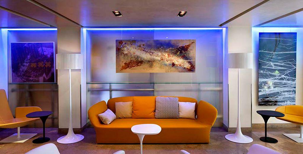 Entdecken Sie ein 4* Hotel im zeitgenössischen Design
