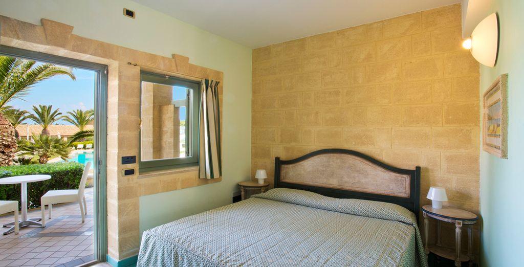 Genießen Sie ruhige Nächte in Ihrem schönen Superior Zimmer