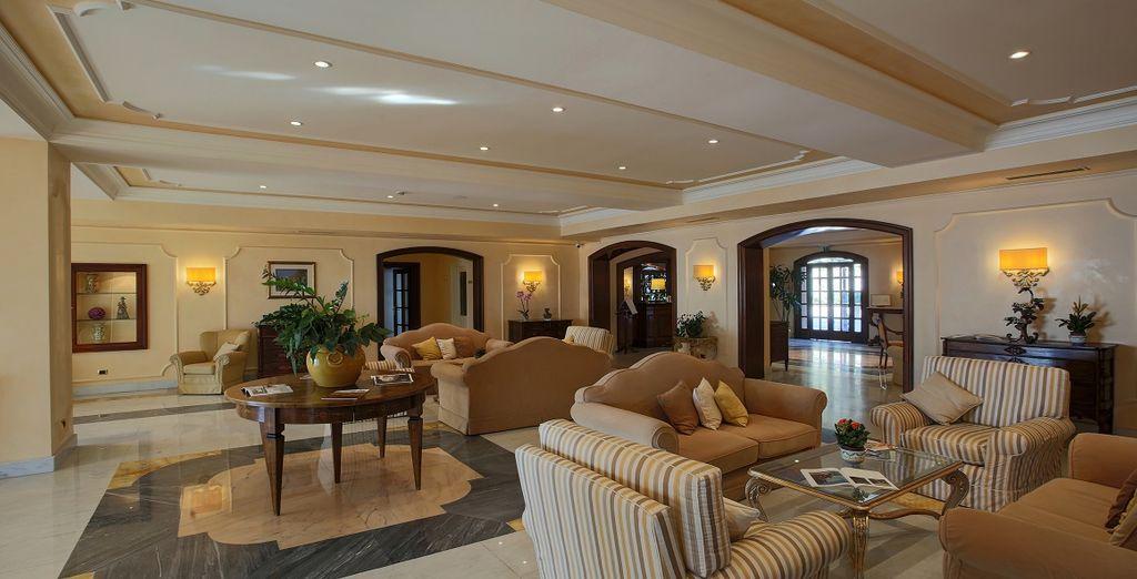 Das Hotel Gran Hotel San Pietro heisst Sie herzlich willkommen