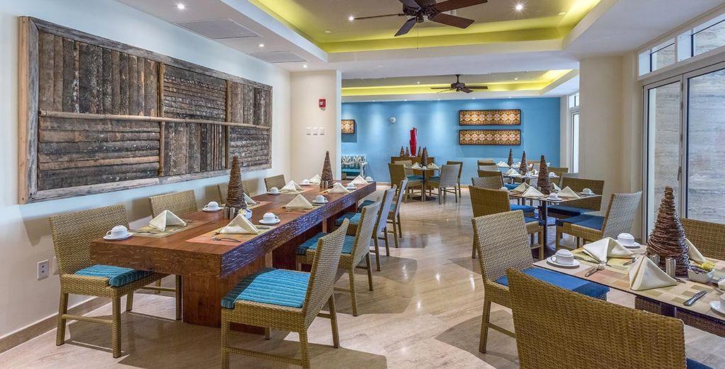 Auch tolle Restaurants befinden sich im Resort