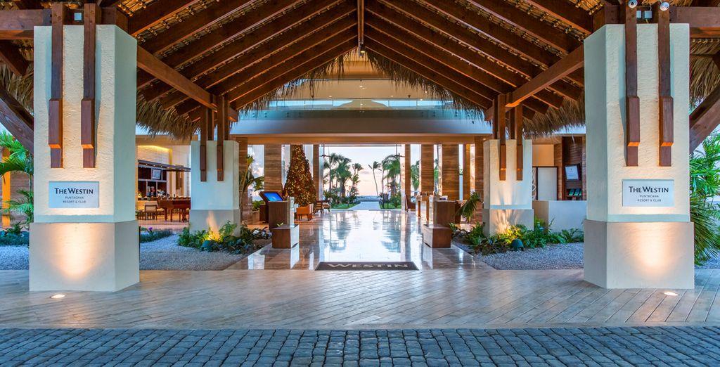 The Westin Punta Cana empfängt Sie in einer exklusiven Atmosphäre
