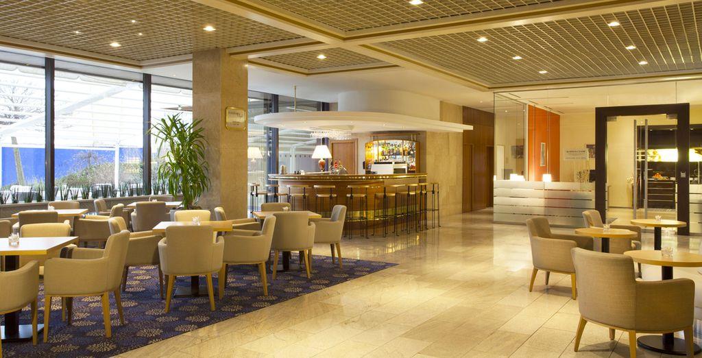Genießen Sie das ruhige Ambiente im Hotel