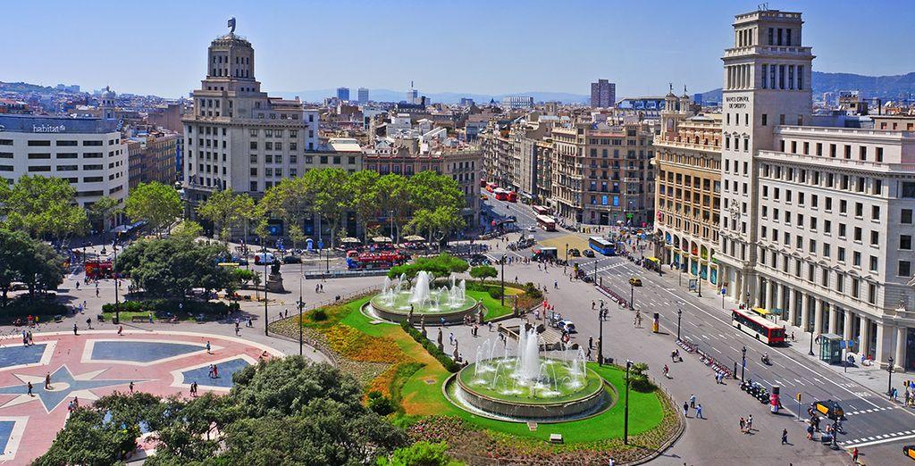 Entdecken Sie Barcelona während Ihres Urlaubs