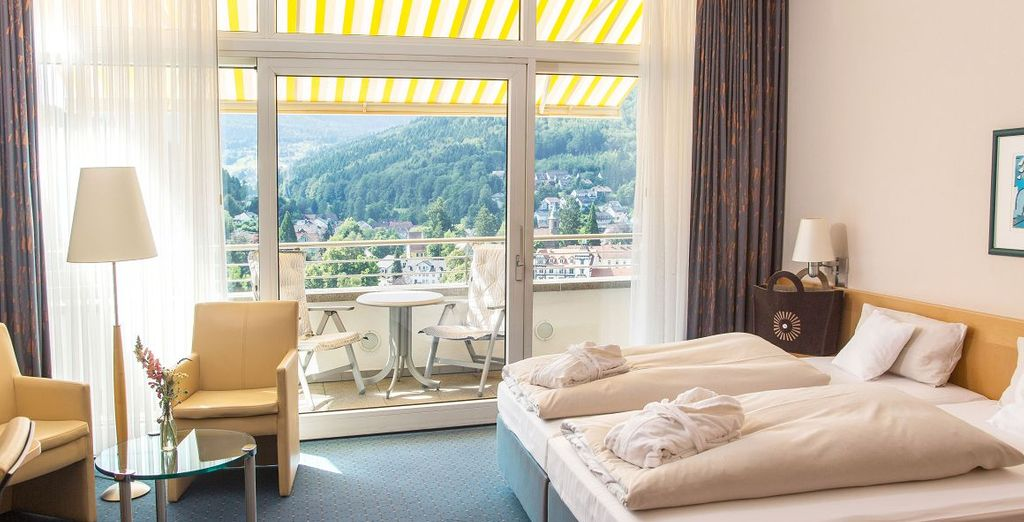 SCHWARZWALD PANORAMA 4*S Hotel.Campus.Selfness