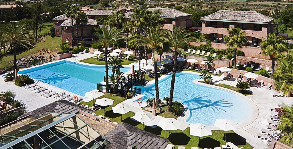 Welches Hotel soll in Andalusien in unserem Reiseführer gebucht werden?