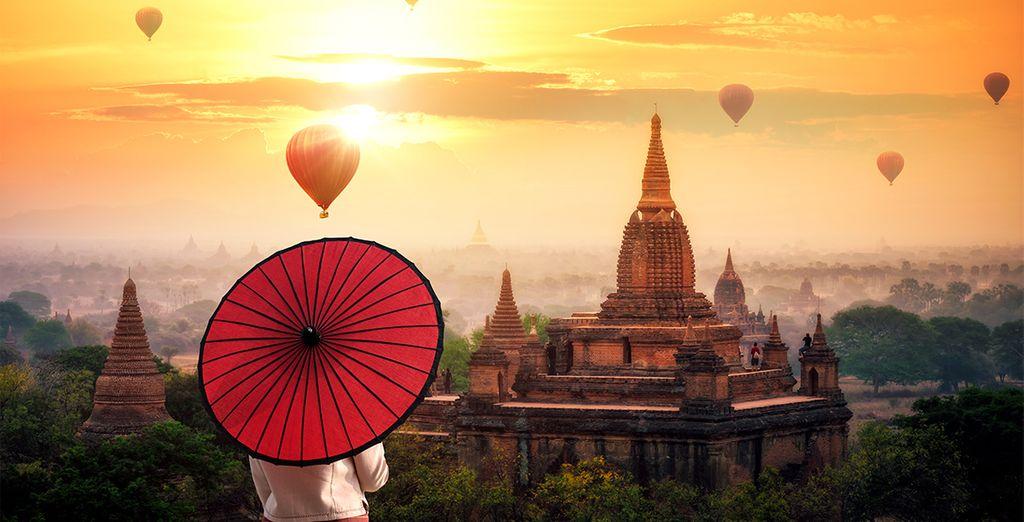 Buchen Sie Ihre nächste Reise nach Myanmar