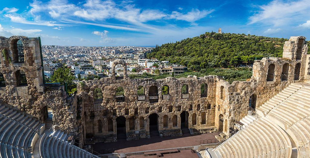 Entdecken Sie Athen, indem Sie Ihr Hotel auf voyage-prive.de buchen