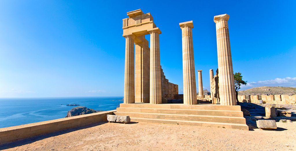 Rhodos ist ein ideales kulturelles Ziel für urlaubs
