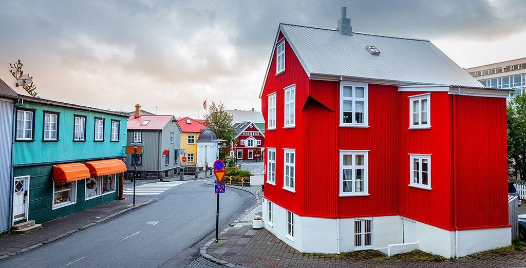 Entdecken Sie die isländische Architektur während Ihrer Reise auf der Insel