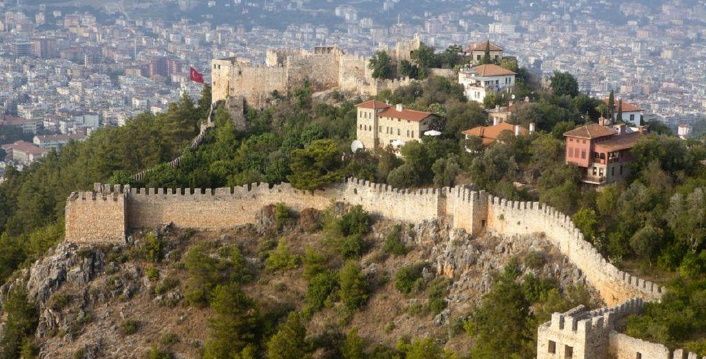 Découvrez la ville historique d'Alanya
