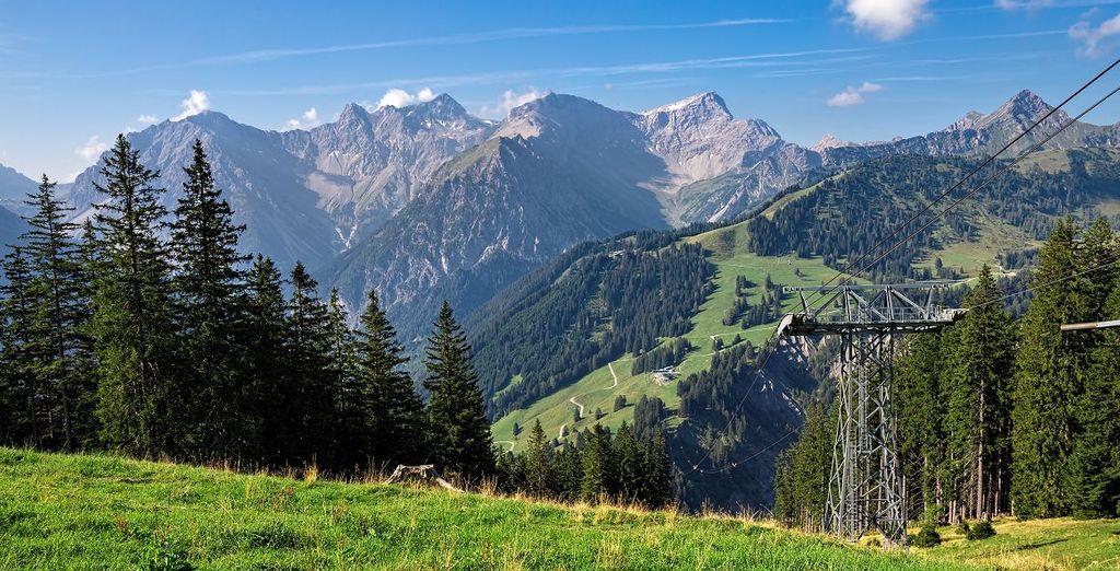 Gehen Sie im Mai nach Österreich inmitten der Natur.