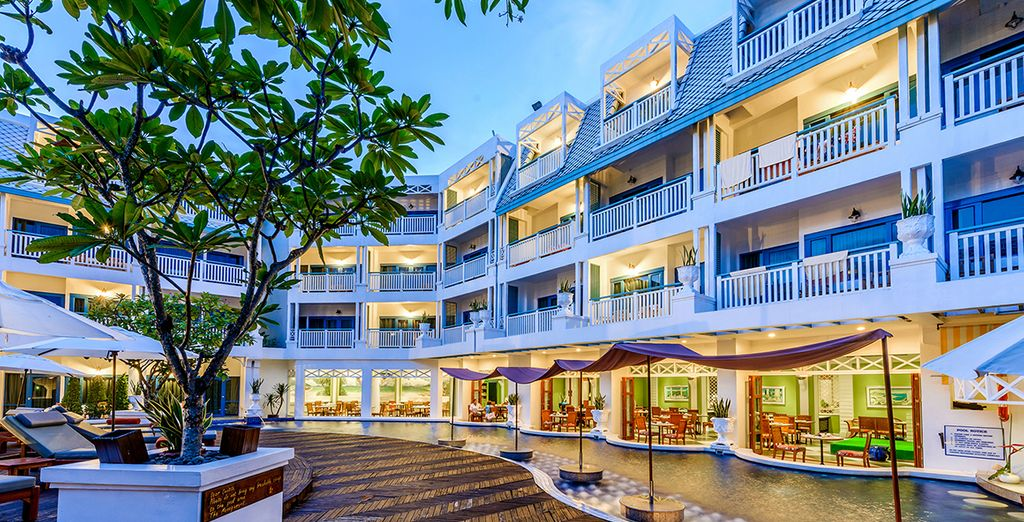 Andaman Seaview 4* mit optionalem Stopover in Bangkok mit Voyage Privé