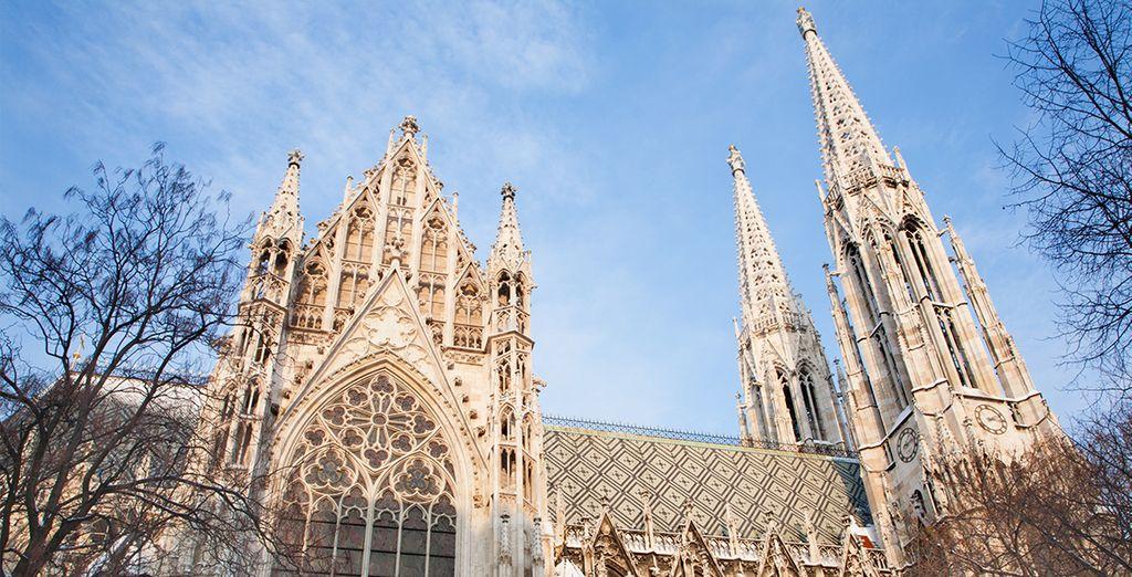 Voll mit atemberaubenden architektonischen Meisterwerken