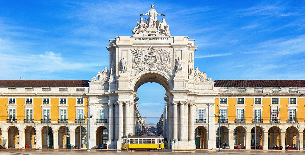 Besuchen Sie Lissabon, die Hauptstadt Portugals