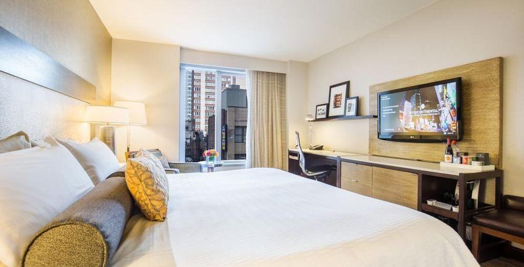 Entdecken Sie das  InterContinental New York Times Square Hotel durch unseren Reiseführer nach New York