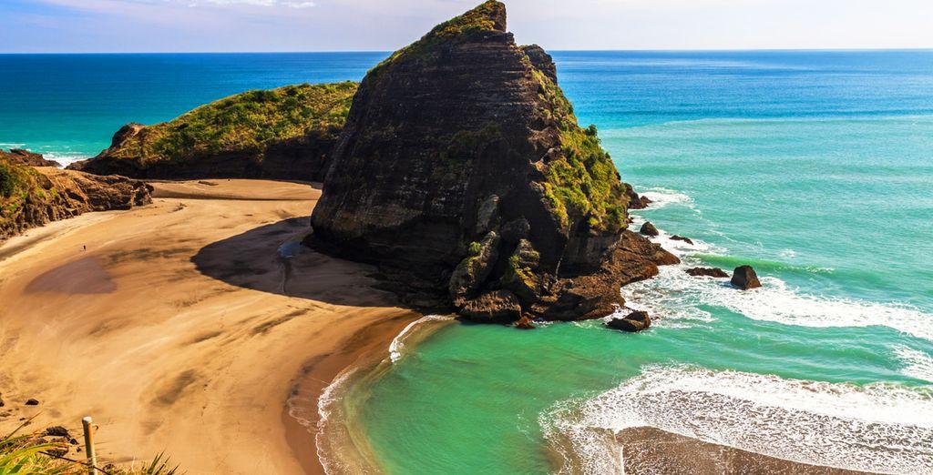 In der Sonne nach Neuseeland reisen