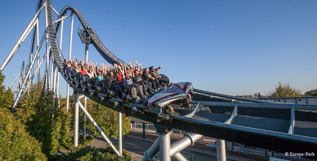 Top-Attraktionen im Europapark Rust