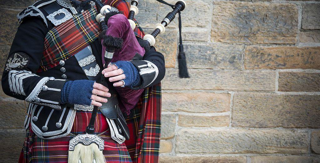 Entdecken Sie die schottische Kultur und Traditionen.