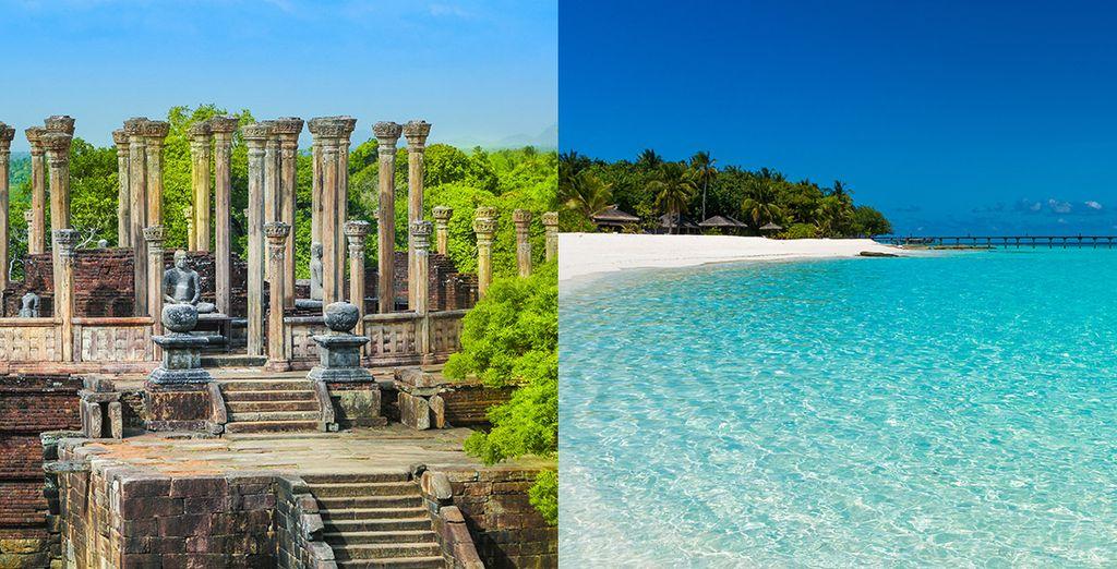Entdeckungsreise Sri Lanka und Strandaufenthalt auf den Malediven mit Voyage Privé