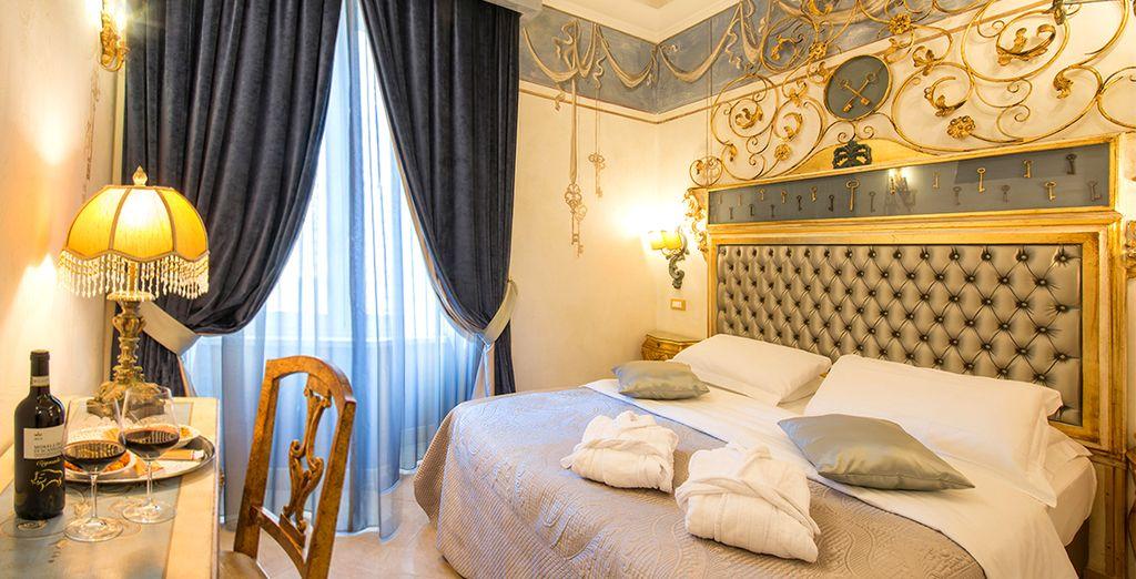 Willkommen im eleganten Hotel Romanico Palace 4*!