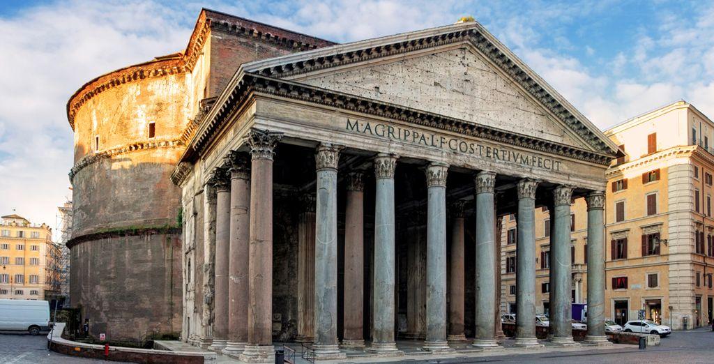 Kommen Sie und besuchen Sie die Pantheon