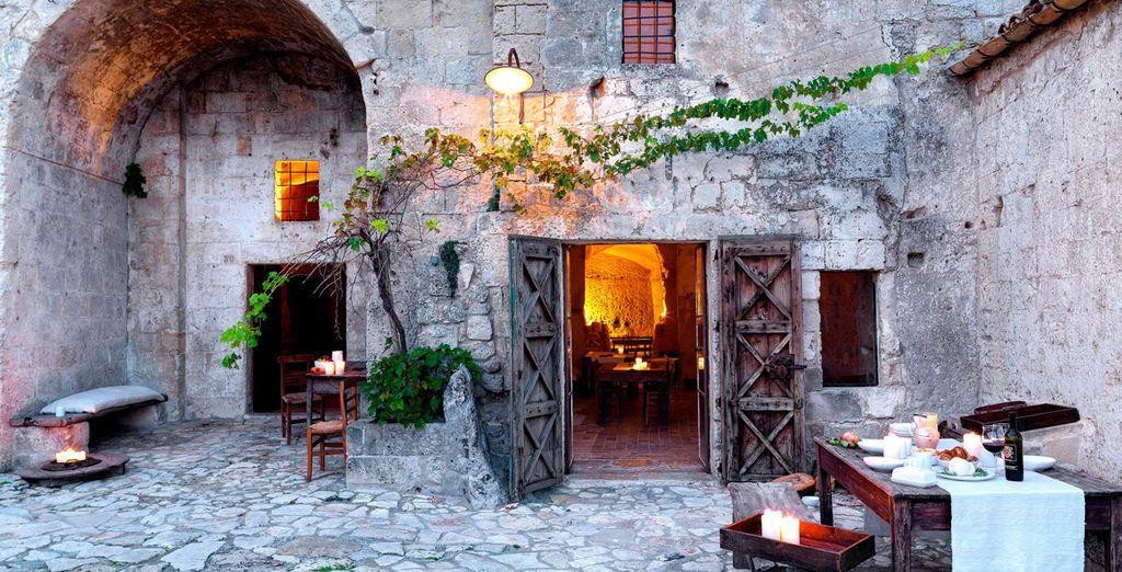 Im Le Grotte della Civita erleben Sie eine Unterkunft der besonderen Art