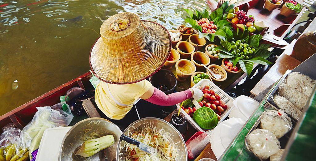 Genießen Sie die Köstlichkeiten der thailändischen Küche