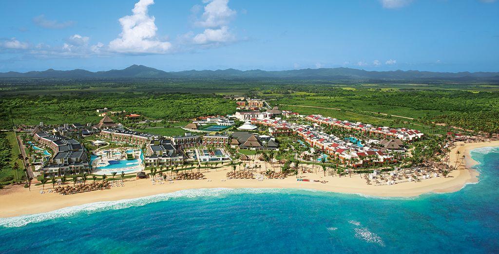 In einem wunderschönes Resort in der Dominikanischen Republik